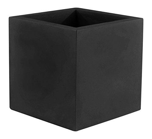 Vondom 41350 Cubo Simple, Negro, 50x50x50 cm