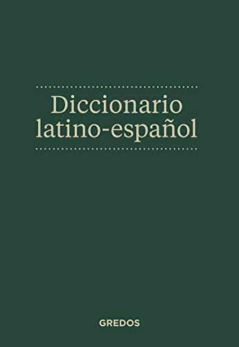 Diccionario latino-español (DICCIONARIOS)