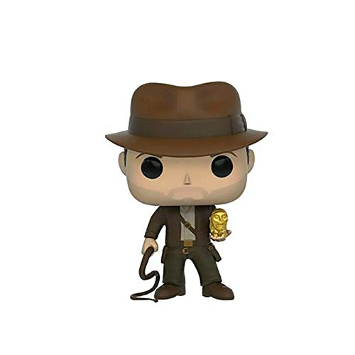 MXXT Pop Figure Indiana Jones Figure Raiders of The Lost Ark Q Versione Vinyl 10cm Bobblehead