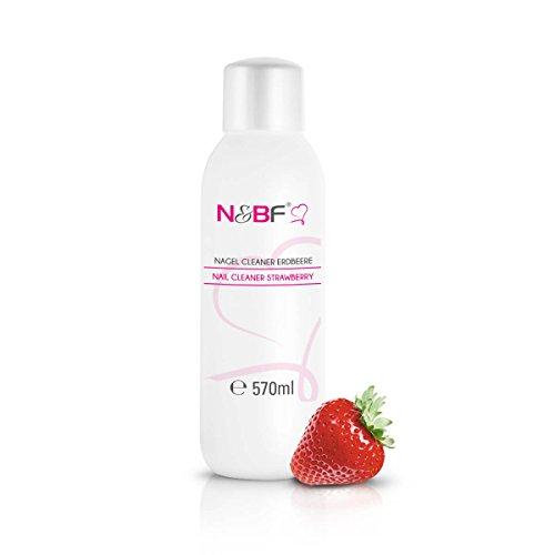 Cleaner per unghie al profumo di fragola 570 ml-Pulitore Nail utilizzato per pulire e sgrassare in qualità da studio