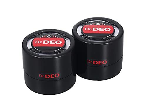 カーメイト 車用 除菌消臭剤 ドクターデオ Dr.DEO プレミアム 置き型 無香 安定化二酸化塩素 100g×2個 D224W
