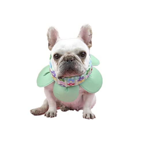 【24HOURS】フレンチブルドッグ 花型クールネック クールスヌード 熱中症対策 犬用 フレブル 涼しい 犬用 アクセサリー ひんやり快適 ペット用品 犬用 お散歩