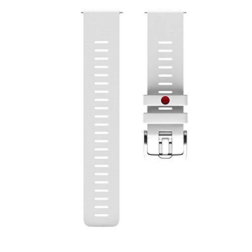 Polar Unisex– Erwachsene Wrist Band 22 mm Uhrenarmband, Weiss, S/M