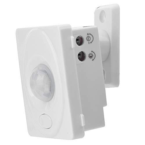 Interruptor Sensor de Movimiento Pir - Interruptor Automático Por Movimiento de movimiento PIR infrarrojo ajustable automático para luz LED 12V