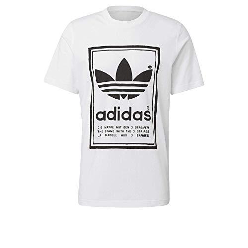 Camiseta adidas Vintage, Blanco XL