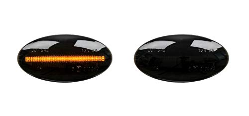 X LED SEITENBLINKER LICHTBAR SMOKE Swift SX4 Splash Sedici SB29