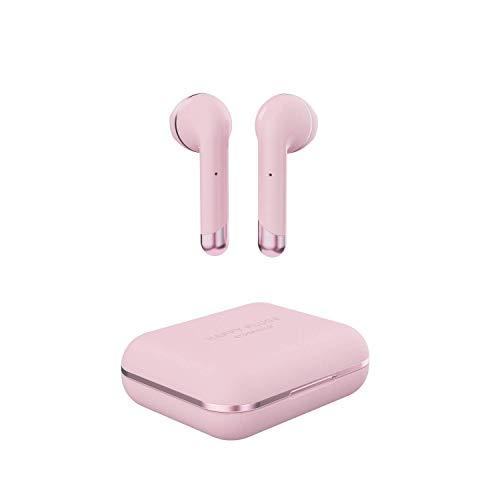 Happy Plugs | AIR 1 Truewireless - Auriculares in-ear con Bluetooth (batería de 14 horas), color rosa