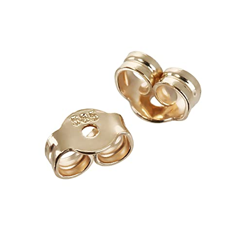 NKlaus Mujer Hombre Unisex 14 k (585) oro amarillo 14 quilates (585)