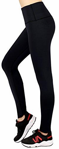 Munvot Mujer Yoga Leggings Pantalones de Cintura Alta con Bolsillo para Correr