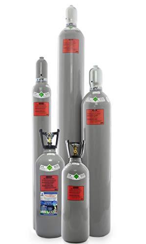 CO2 Flasche mit Steigrohr/Tauchrohr, gefüllt mit Kohlendioxid lebensmittelgeeignet