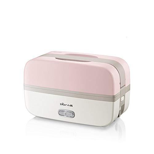 Fiambrera eléctrica Calefacción eléctrica Bento Box Doble Capa Aislamiento Plug-in Cocina Portátil Fiambrera
