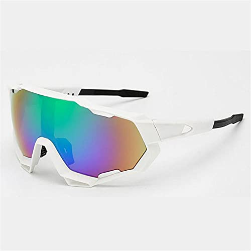 Hombre Gafas de bicicleta Lente polarizada Ciclismo Gafas de sol Ultra Light Sports Eyewear Protección UV Bicicleta Gafas de sol para mujer-08_Un tamaño_PORCELANA