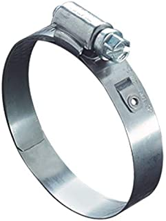 Ideal Tridon 5328051 Stainless Steel Worm Gear Lined Hose Clamp, Size 28, Minimum (mm): 34, Maximum (mm): 57 (Pack of 10)