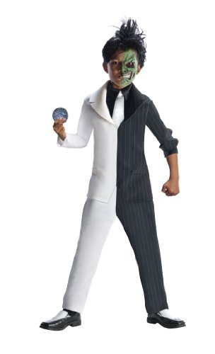 Rubies DC Super Villains Two Face Costume, Child Large by Rubie's
