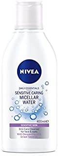 NIVEA, Face Cleanser, MicellAIR, Micellar Water, All-in-1 Makeup Remover, Dry to Sensitive Skin, 400ml