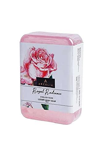 Arcelia Unisex Royal Radiance (English Rose) Luxury Bathing Soap – 150 gm (S20SOAPRYLRAD)