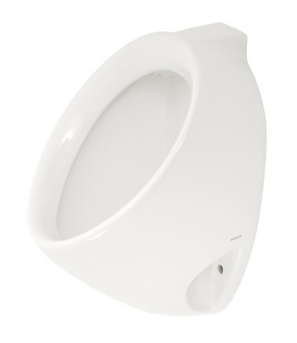 TOTO UT104EV#01 Commercial Washout Urinal With Back Spud, Cotton White