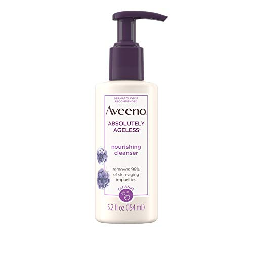 Aveeno Absolutely Ageless, Nourishing Cleanser, 5.2 Fluid Ounce by Aveeno