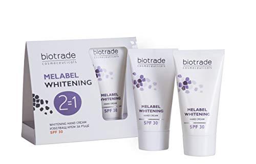 Melabel Whitening Hand cream with SPF 30, Lightens Dark Age Spots on the...