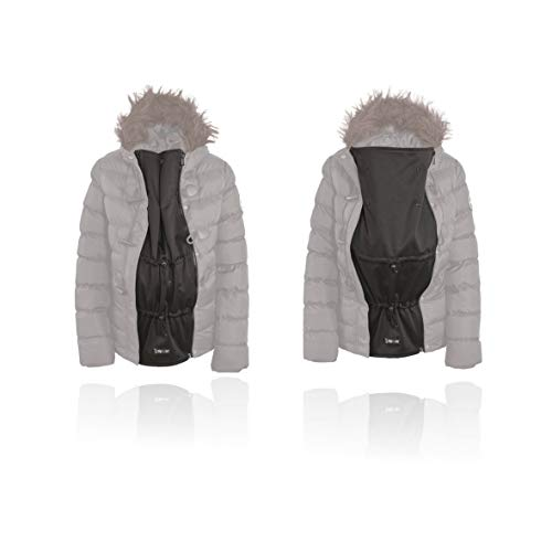 Jackenerweiterung - Verwandeln Sie ihre eigene Jacke oder Mantel in eine Mutterschafts oder Babyjacke (65cm Einzel Spirale YKK 5cnt (mit Einem Schieber))