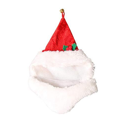 Animales de Navidad Disfraces Sombrero 2 piezas de Navidad de Santa sombreros del sombrero del perro casero sombreros de Navidad for mascotas disfraces for mascotas for los suministros Perros Gatos de