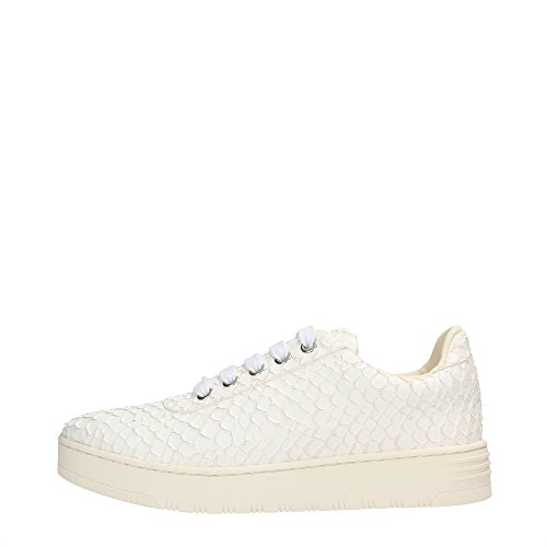 JC PLAY BY JEFFREY CAMPBELL LACE UP LEATHER SNAKE (36)
