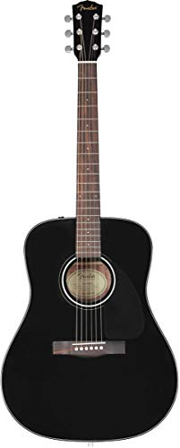 Fender CD-60 V3 DS BLK WN Westerngitarre