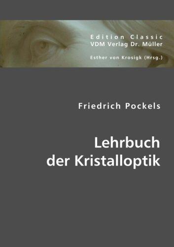 Lehrbuch der Kristalloptik