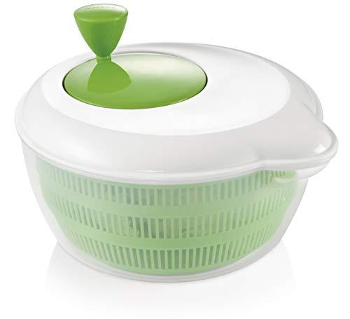 "Tescoma 643590 Centrifuga per Insalata ""Handy"", bianco / verde"