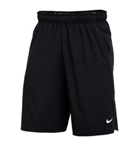 Nike Flex Woven Short 2.0, Black/White, Large