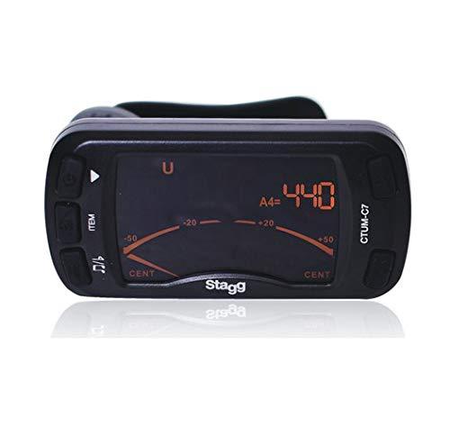 Stagg 21016 automatisches chromatisches Stimmgerät mit Metronom