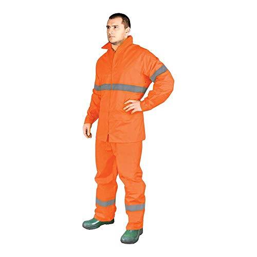 Reis kpl-Rainer_Pxl - Kit de protección para lluvia, talla XL, color naranja