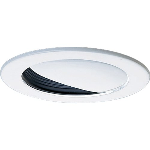 Progress Lighting P8045-31 Transitional Wall Washer Trim Collection in Black Finish, 5-Inch Diameter