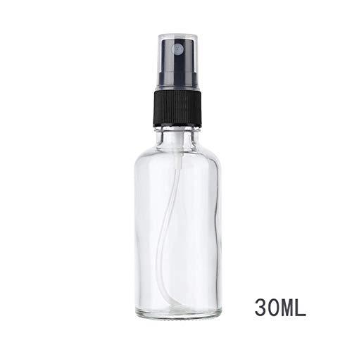 QPM 100/50/30ML navulbare draagbare etherische olie vloeistof sproeier lege verstuiver make-up spray fles parfum glas