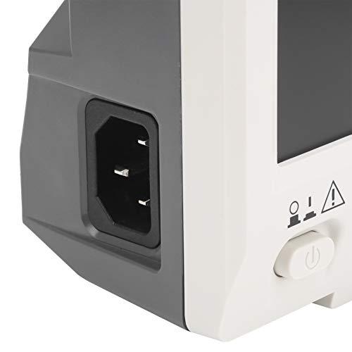 Osciloscopio digital SDS1104 Ancho de banda de 100 MHZ Osciloscopio digital 4 canales 100 MHZ Osciloscopio digital Función de zoom de forma de onda(Transl)