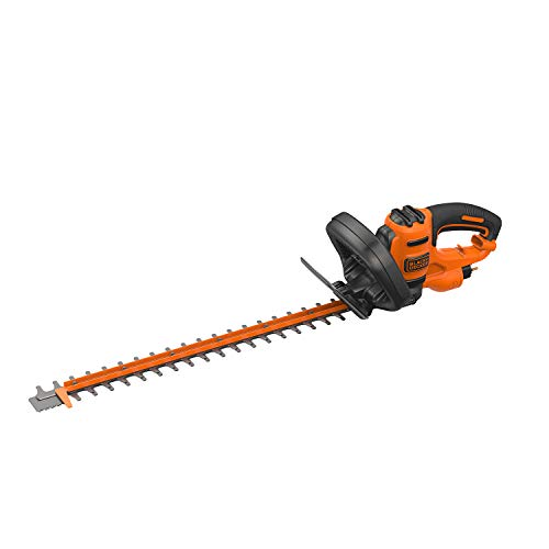 BLACK+DECKER - Cortasetos 55cm, 22mm, 500W (BEHTS401-QS)