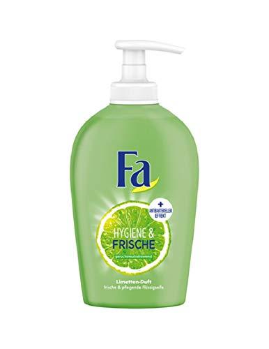 Fa Hygiene und Frische Flüssigseife Limette 250ml