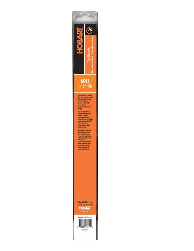 Hobart H112216-R01 1-Pound Plastic 6011 Stick Electrode, 1/16-Inch