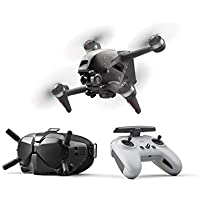 DJI Drone UAV Quadcopter with 4K Camera, S Flight Mode, Super-Wide 150 deg. FOV, HD Low-Latency Transmission, Hover (Gray)