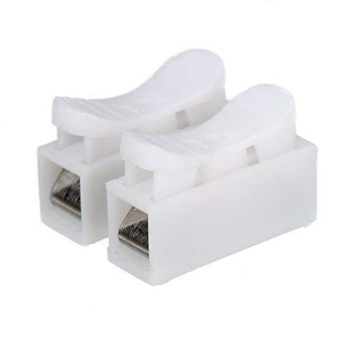 Elektrische Verbindungsklemmen Steckklemmen Spleiß Lock Drahtklemmen 2 polig (5)