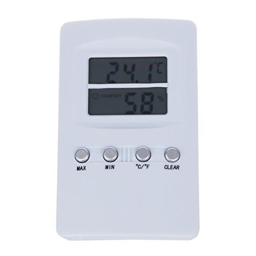 Fauge Thermometer Hydrometer digital Feuchtigkeit Messgeraet