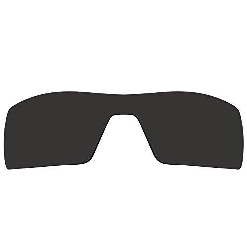 Acompatible Ersatzgläser für Sonnenbrille Oakley Oil Rig 1. Gen., Black - Polarized, S