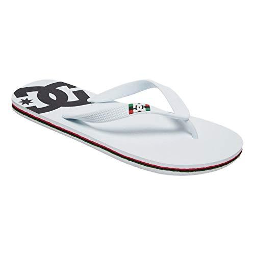 DC Shoes Spray - Flip-Flops for Men - Sandalen - Männer - EU 47 - Weiss