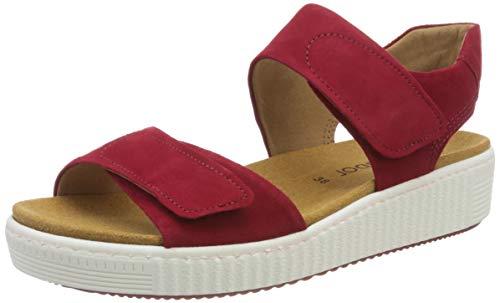 Gabor Shoes Damen Jollys Riemchensandalen, Rot (Rubin 15), 40 EU