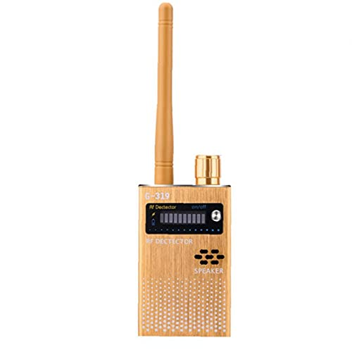 Sanfiyya Detector de señal inalámbrica Rastreador de señal para Buscador de escuchas ilegales cámara estenopeica G319 Anti espía del Detector de Dispositivo de Escucha