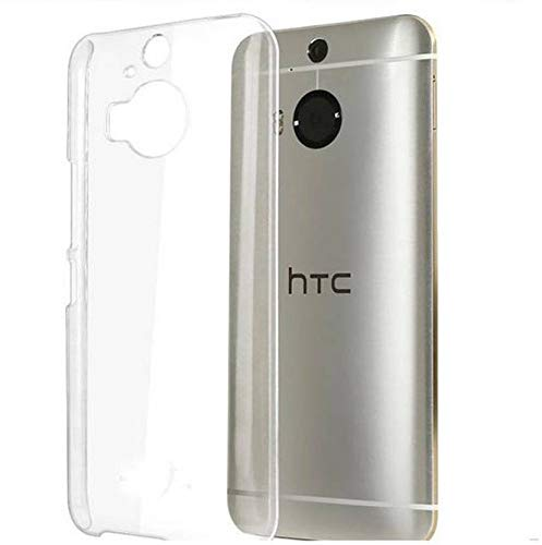 Pinaaki Enterprises Soft Silicone Transparent Crystal Clear Soft Back Case Cover for HTC One M9 Plus