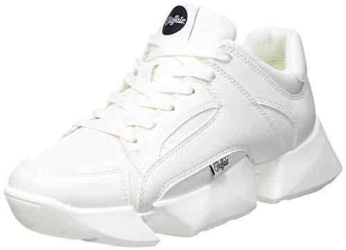 Buffalo Damen Matrix ONE Sneaker, White, 39 EU