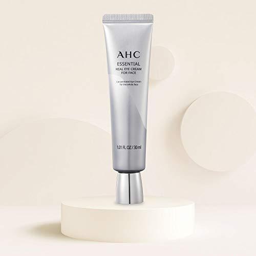 318Ck+J1+PL - Aesthetic Hydration Cosmetics AHC Face Moisturizer Essential Eye Cream for Face Anti-Aging Hydrating Korean Skincare 1.01 oz