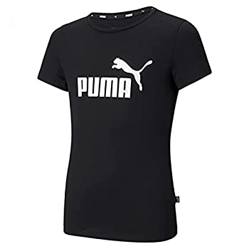 PUMA ESS Logo Tee G T-Shirt Fille, FR Unique (Taille Fabricant : 140)