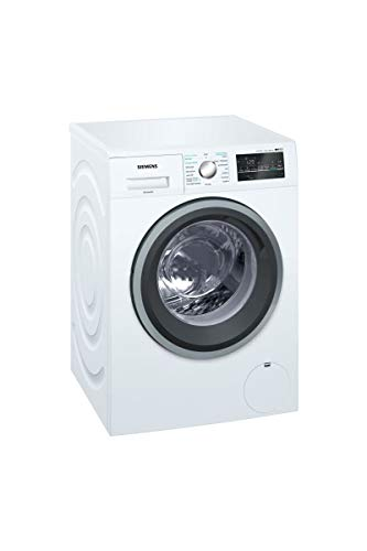 Siemens WD15G462FF Independiente Carga frontal A Blanco lavadora - Lavadora-secadora (Carga frontal, Independiente, Blanco, Izquierda, Giratorio, Tocar, LED)